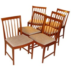 Set of 6 Dining Chairs Bodafors Sweden