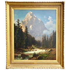 """Alpine Majesty"" by Joseph Jansen"