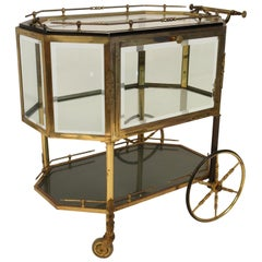 1940s French Pastry Cart /Bar Cart