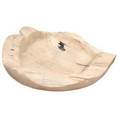 Andrianna Shamaris Bleached Teak Wood Vessel