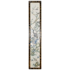 19th Century Framed Chinese Silk Embroidery