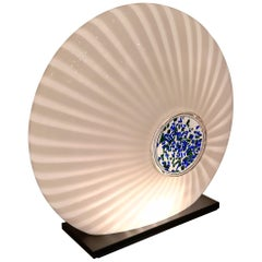 Carlo Nason Glass Table Lamp, circa 1970