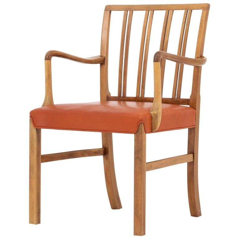 Set of 10 Armchairs by Ole Wanscher For Sale