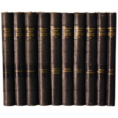 Collection of Leather Bound Books, Series 134