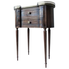Louis XVI Style Guéridon or Side Table, 1960s