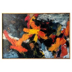 Stephan Kissel California Abstract Modernist Oil Painting