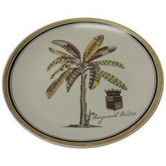 Decorative Ceramic Plate by Raymond Waites