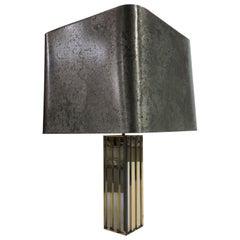 Large Table Lamp by Gaetano Sciolari, 1970s