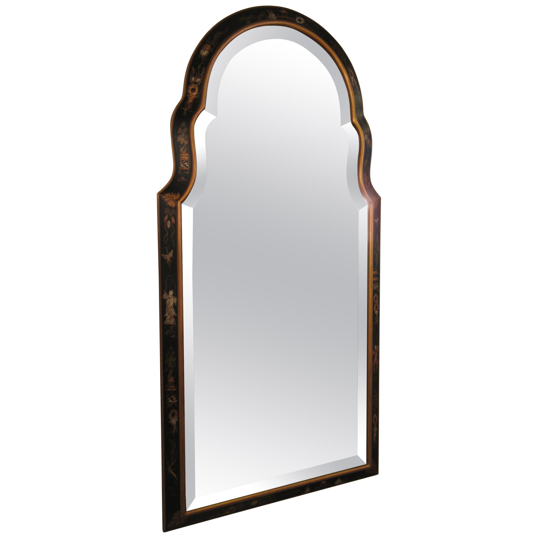 1960s Beveled Chinoiserie Mirror