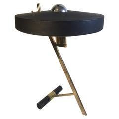 """Louis Kalff """"Z"""" Table or Desk Lamp for Phillips Lighting"""