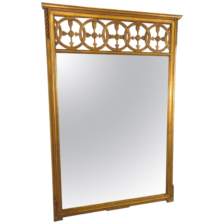 1950s Gilt Arrow Mirror