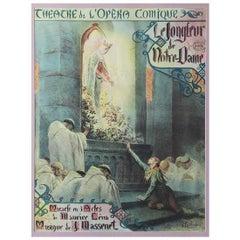 "Georges Antoine Rochegrosse ""Le Jongleur de Notre Dame"""