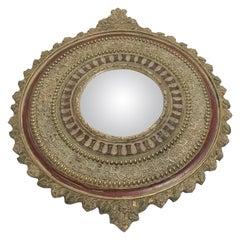 Vintage Convex Mirror, 1950s