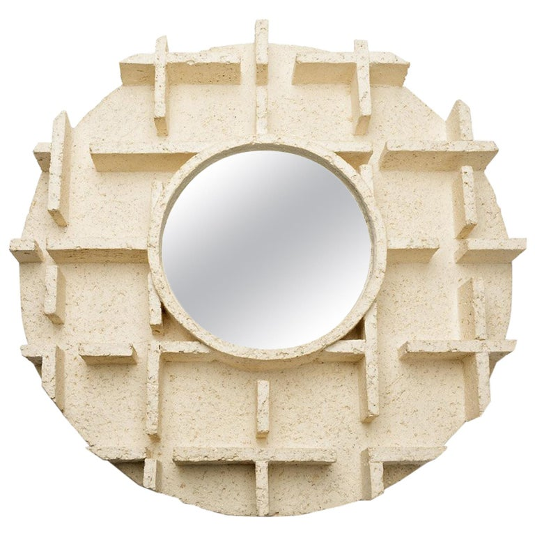 Ceramic Mirror by Denis Castaing, 2018 For Sale