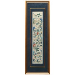 Chinese Kesi Tapestry Woven Silk Panel