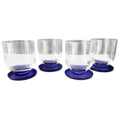 Pierre Cardin Ultramodern Glassware/Set of Four Tumblers, 1970s