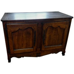 French Buffet with Fluted Center Column