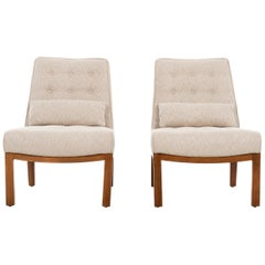 Pair of Dunbar Slipper Chairs