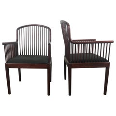 Pair Davis Allen Andover Armchairs for Stendig of Italy