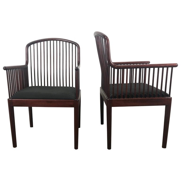 Pair Davis Allen Andover Armchairs for Stendig of Italy For Sale
