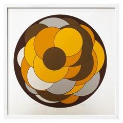 """Bubbles Honey"" Original Serigraphy by Alfredo Orozco"
