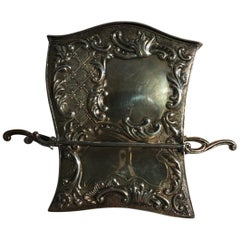 France Late 18th Century Silver Carriage Shape Box in Victorian Style