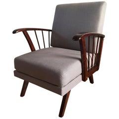 Mid-Century Modern Lounge Armchair, 1960s