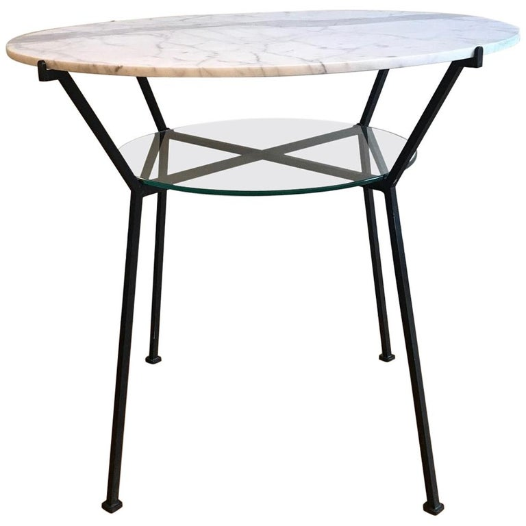 French 1950s Charles Ramos Table For Sale