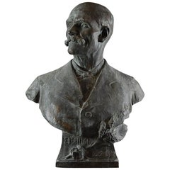 Bronze Life-Size Bust