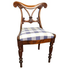 19th Century Regency Mahogany Chairs