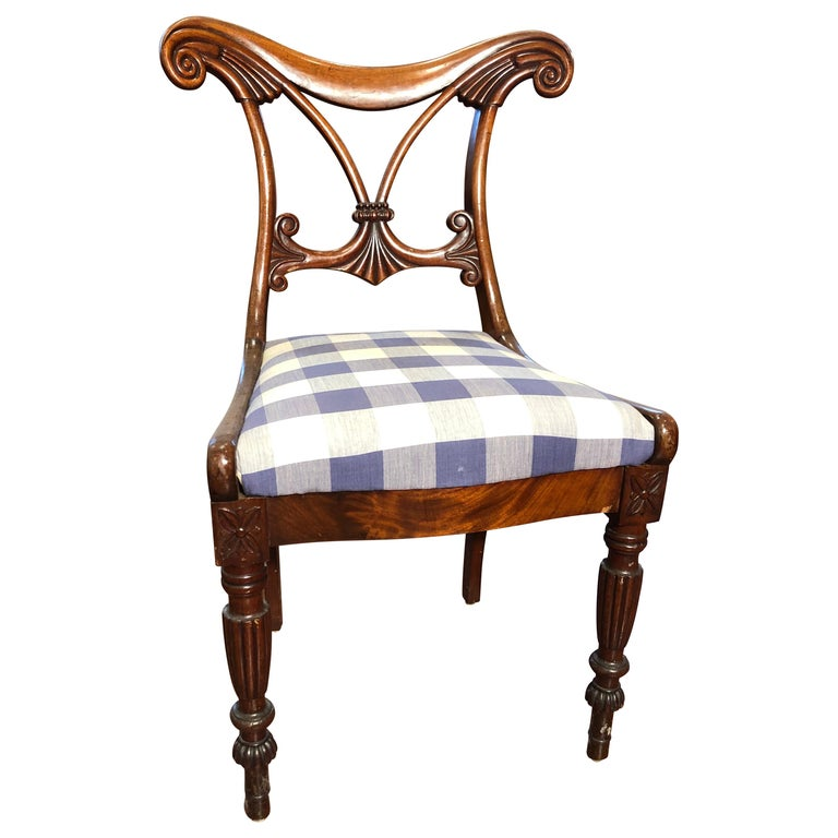 19th Century Regency Mahogany Chairs For Sale