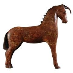 Large Swedish Wooden Horse