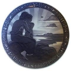 Royal Copenhagen Commemorative Plate from 1919 RC-CM186