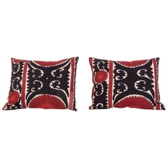 Pillow/Cushion Cases Fashioned from a Midcentury Suzani