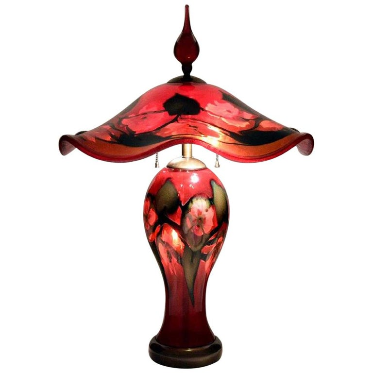 Charles Lotton Table Lamp For Sale