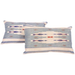 Pillow Cases Fashioned from an Early 20th Century Syrian Textile
