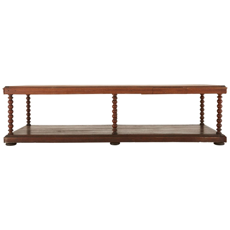 Late 19th Century French Draper's Table For Sale