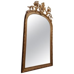 Large 19th Century English Mirror from the Blenheim Estate