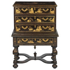 Early 18th Century Chinese Chest on Stand