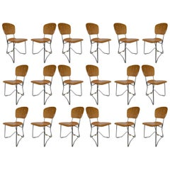 20 Chairs Designed by Armin Wirth for Hans Zollinger Sohre, Switzerland