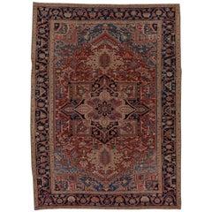 Antique Heriz Carpet, circa 1920s