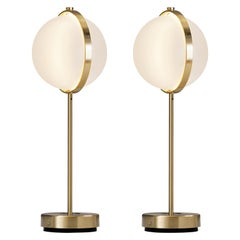 Pair of Orion Table Lamps, Large