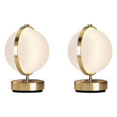 Pair of Orion Table Lamps, Small
