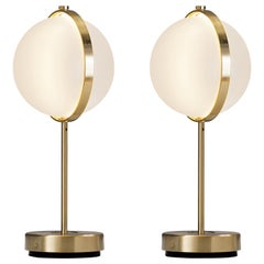 Pair of Orion Table Lamps, Medium