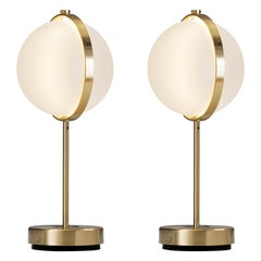 Pair of Vega Table Lamps, Medium
