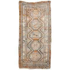Antique Turkoman Runner Rug