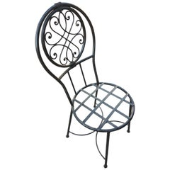 Moroccan Wrought Iron Chairs - Dining Room Round