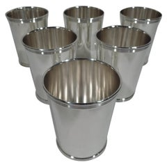 Set of 6 Gorham Newport Sterling Silver Mint Juleps