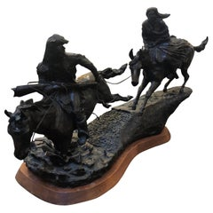 High Plains Avenger, Bronze Sculpture