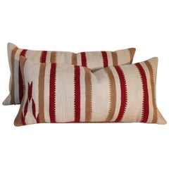 Navajo Saddle Blanket Pillows, Pair